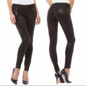 Nevermind Paper Fox Madeline Coated Skinny Jeans
